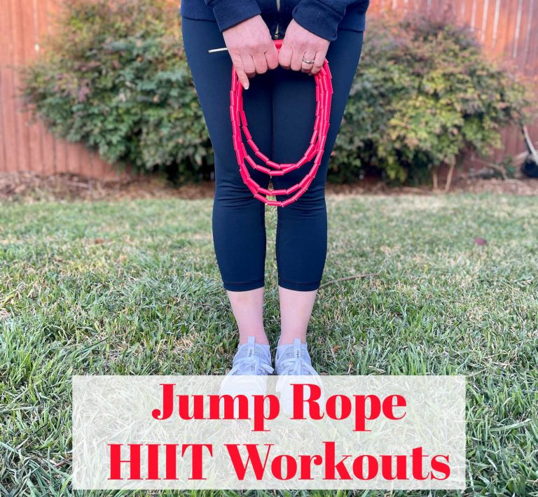 HIIT Workouts Over 50 – My Favorite Beginner Jump Rope Exercises