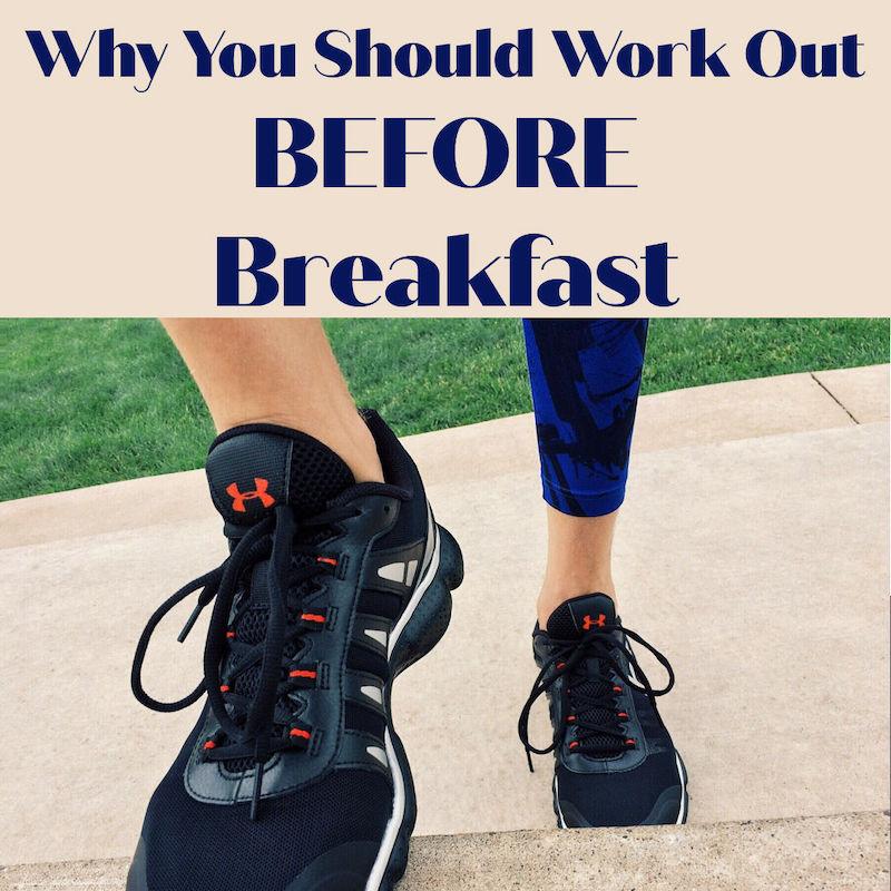 workout before breakfast