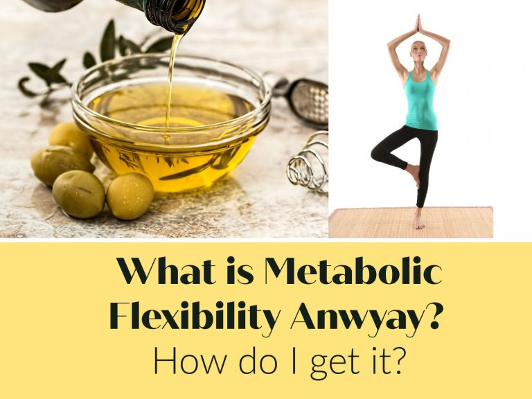 Do you keep hearing it's important to have metabolic flexibility?  What is that?