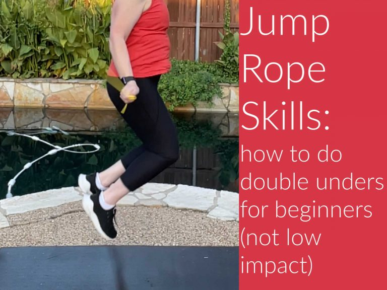 Jump Rope skills: how to do double unders for beginners