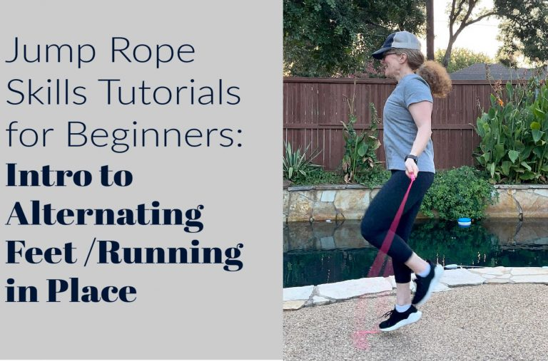 Jump Rope Skills Tutorials for Beginners: Alternating Foot