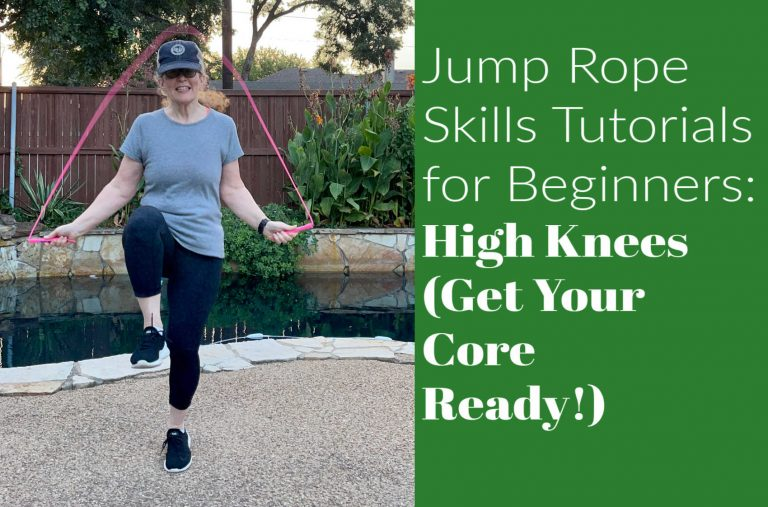 Jump Rope Skills Tutorials for Beginners: High Knees