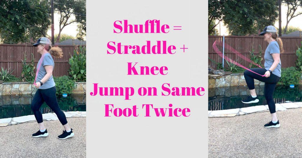 shuffle step