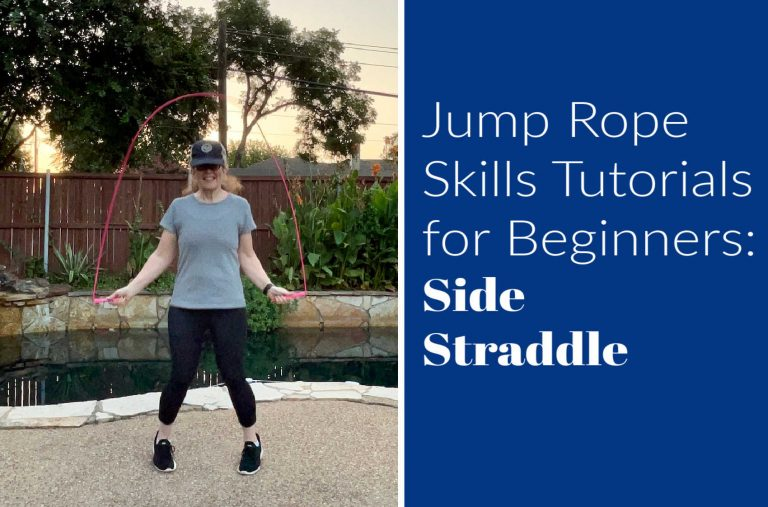 Jump Rope Skills Tutorials for Beginners:  Side Straddle